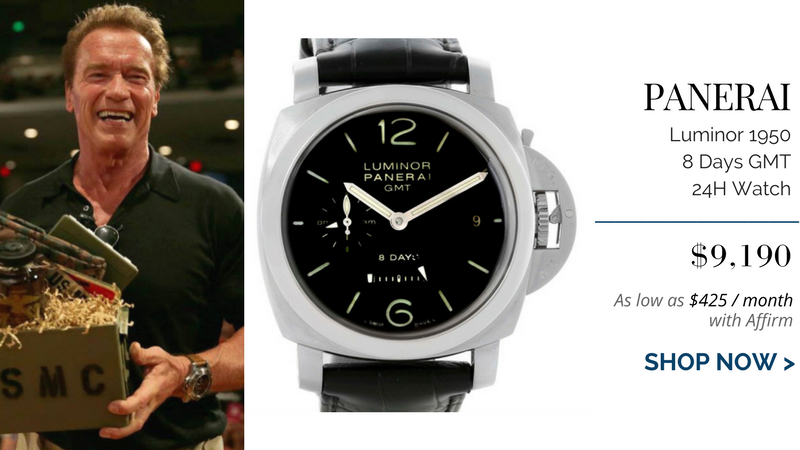 Action stars and their panerai watches the watch club by swisswatchexpo for Celebrity wearing panerai