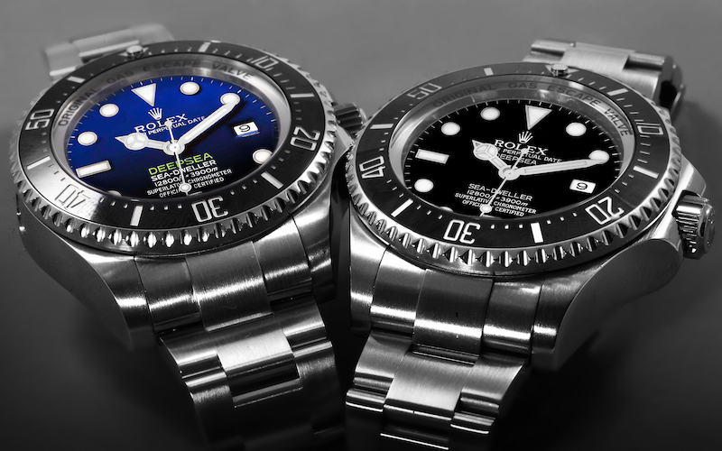 rolex seadweller and rolex seadweller deepsea watch