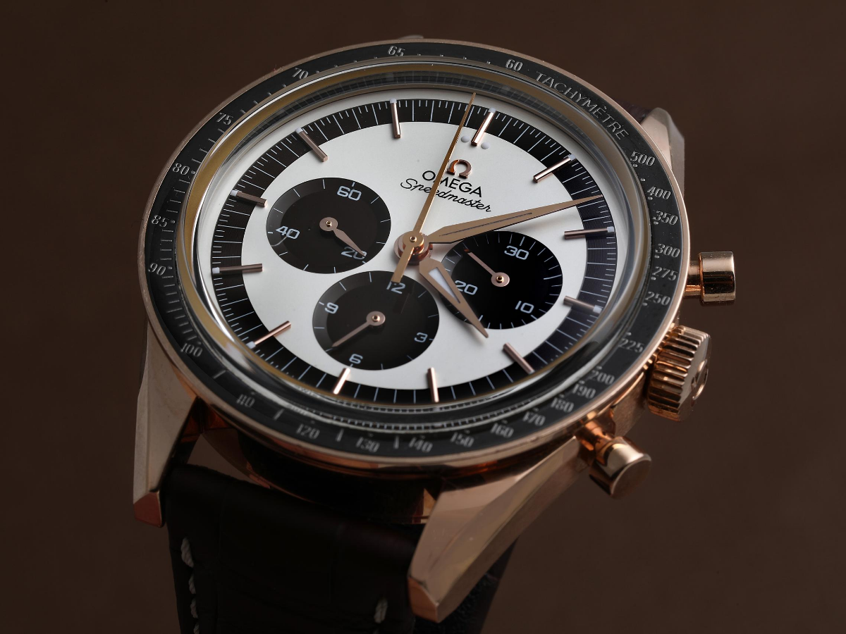omega with rose gold alloys