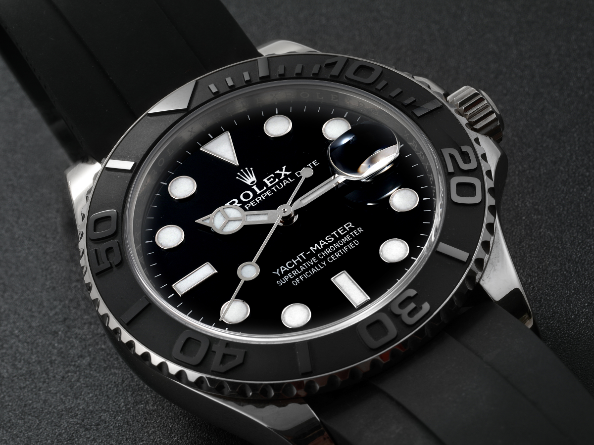 rolex yachtmaster white gold