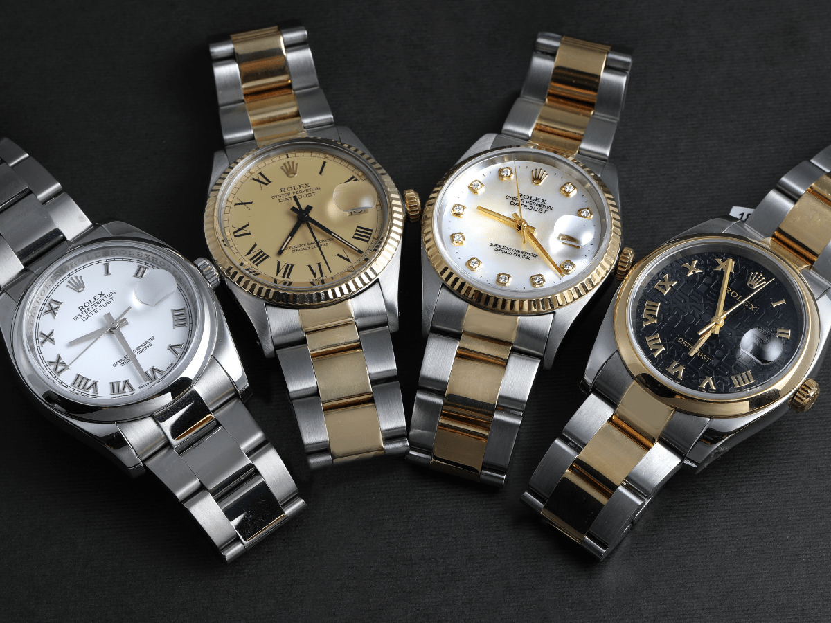different watch hour markers indices types
