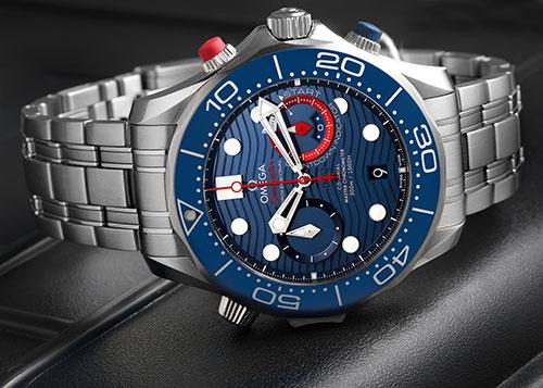 Photo of Omega Seamaster watch