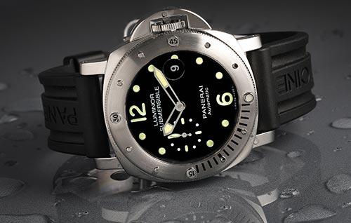 Photo of Panerai watch